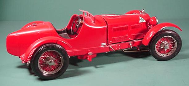Cars - Alfa romeo model cars